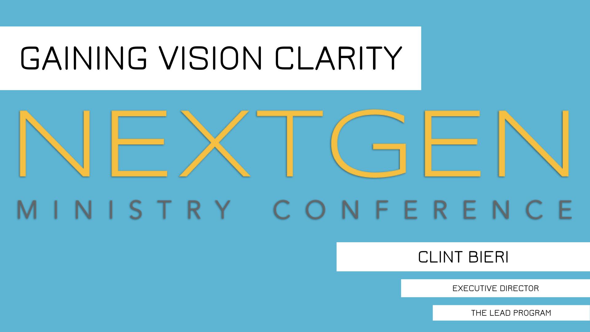 NEXTGEN Ministry Conference